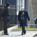 Vince Cable arrives for Cabinet in the days before the vote. Some observers believe the aftermath of the AV vote could break the coalition. Photo: www.politicalpictures.co.uk