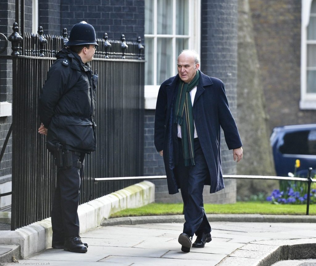 Vince Cable faces extensive lobbying from the banks