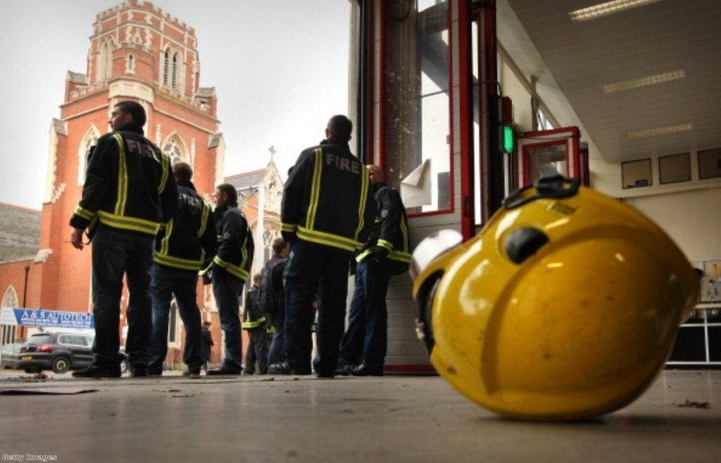 Firefighters will strike for four hours next Wednesday