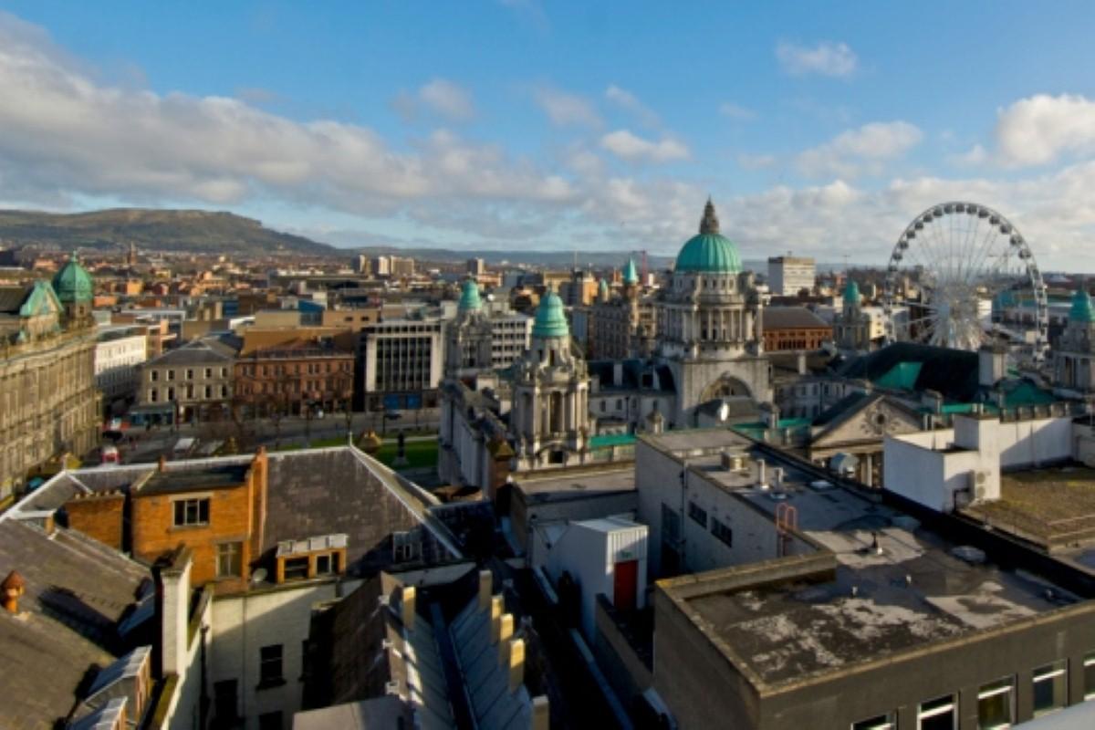 Belfast: portrait of change.