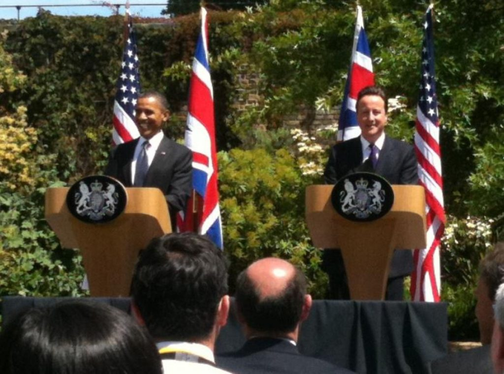 Obama and Cameron: The world relies on our alliance