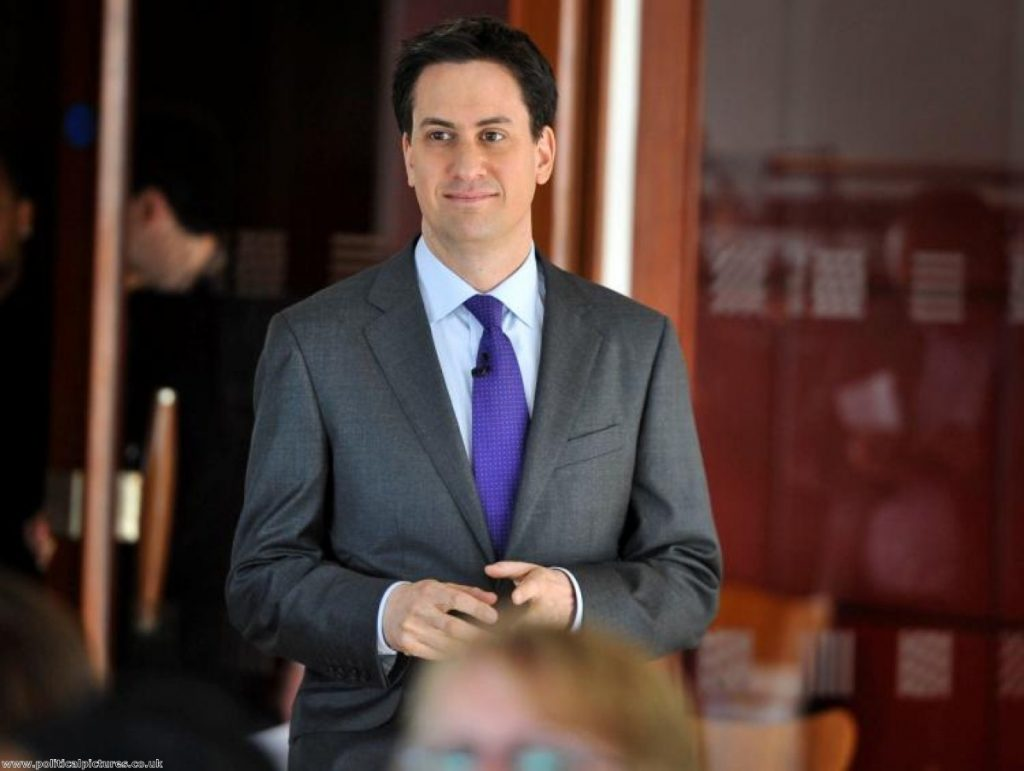 Miliband: 'I'll put aside Labour's pre-election plans and proposals in good faith to try and find a solution.'