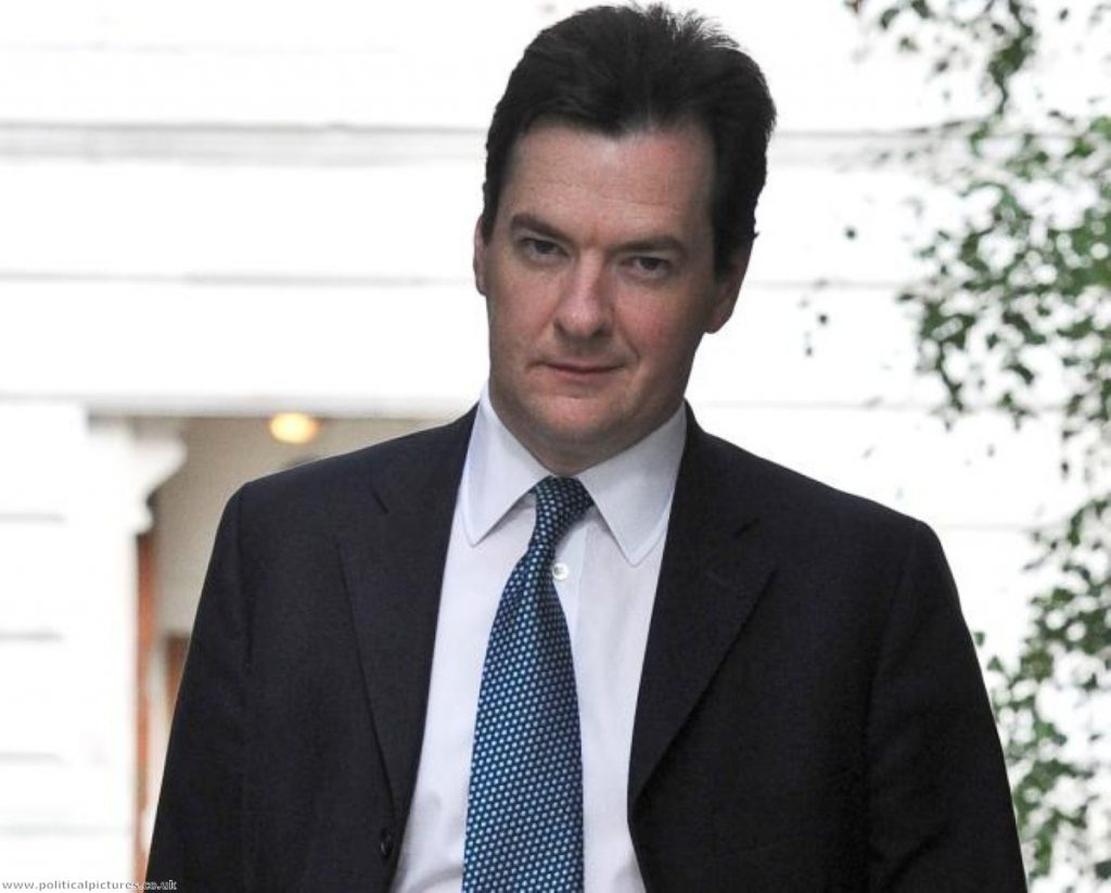 George Osborne won't give in to critics over his deficit reduction plan. Photo: www.politicalpictures.co.uk