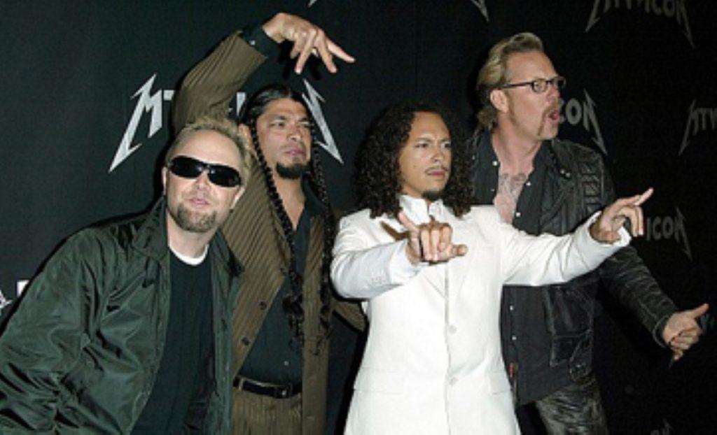 "Frontman James Hetfield: ""I love my guns"""