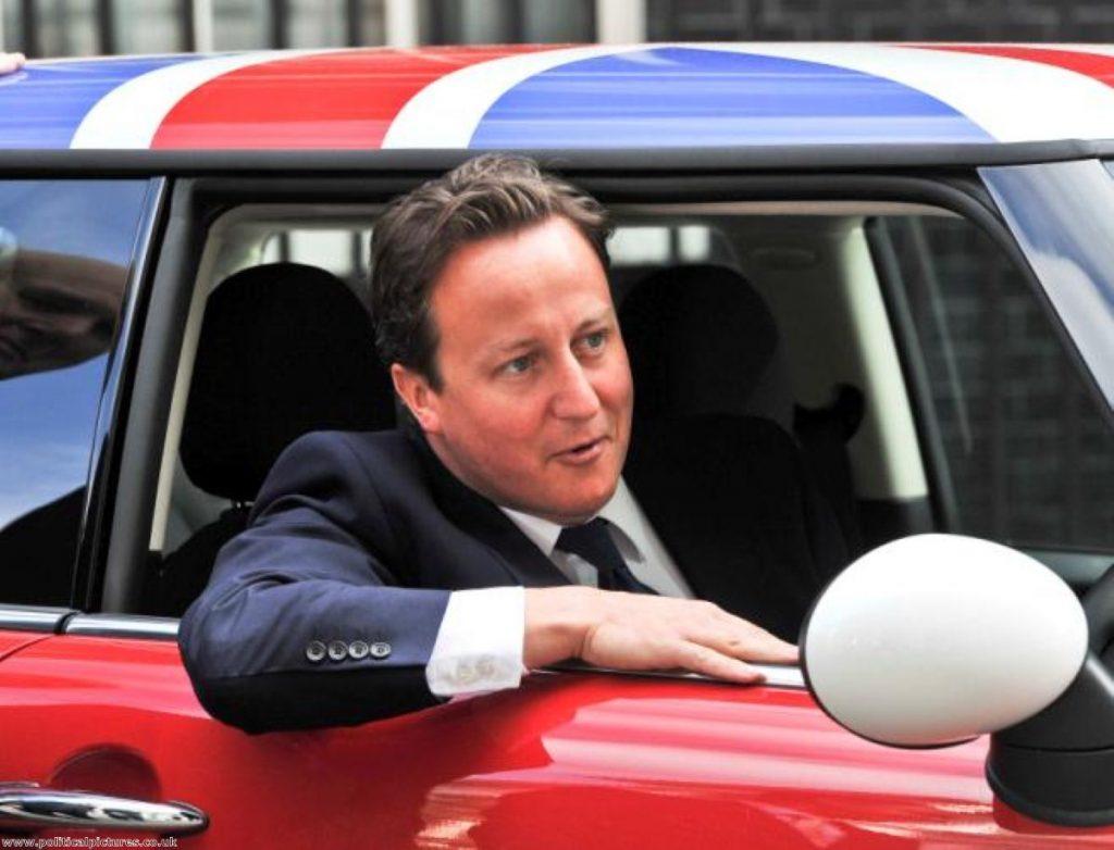 David Cameron: Um, is he wearing a seatbelt?