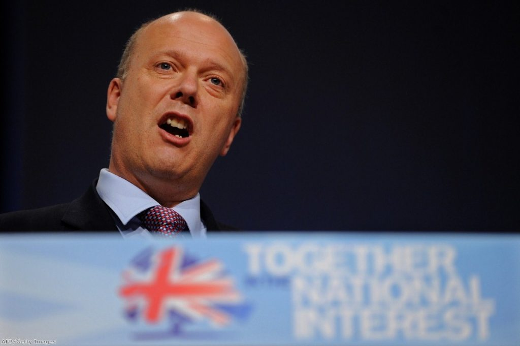 Previous justice secretary Chris Grayling insisted there was no prison crisis