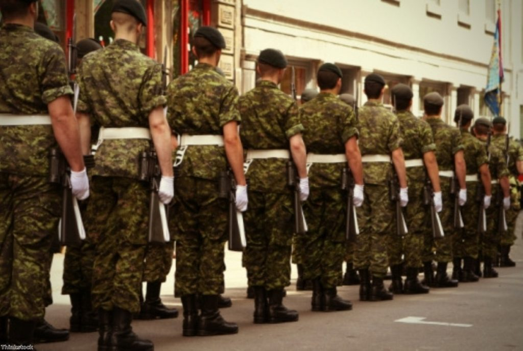 The army recruitment age should be raised to 18, camapigners claims