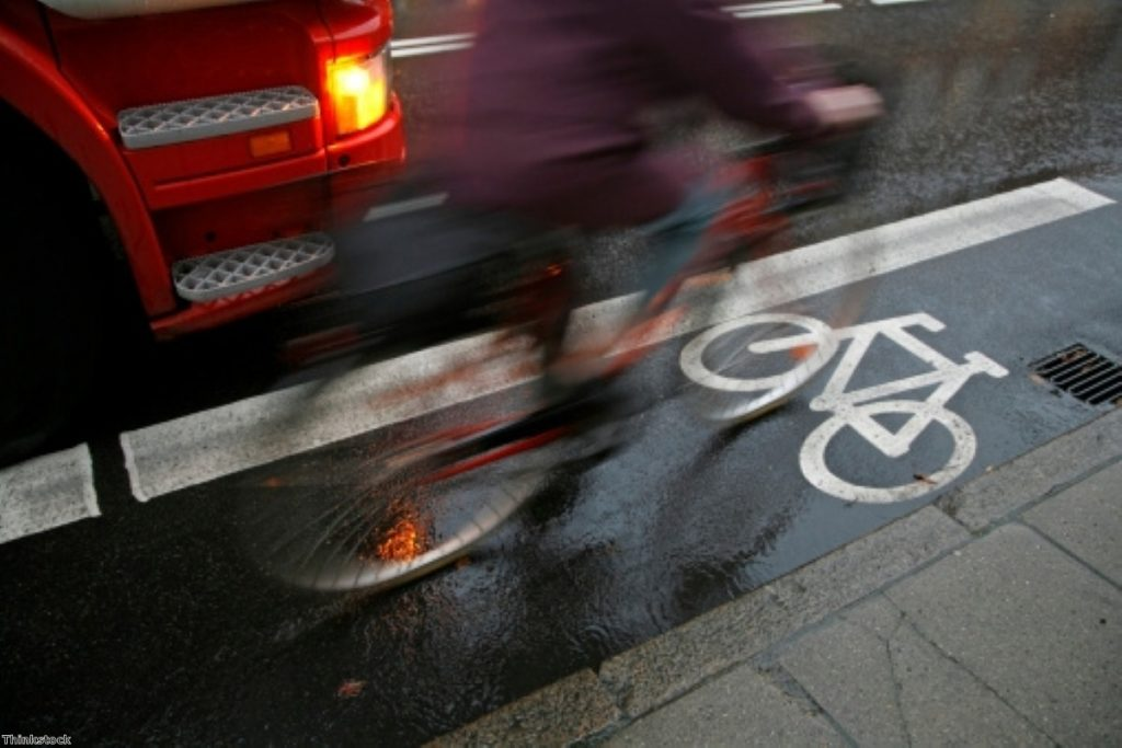 Just 2% of all journeys are made by bike
