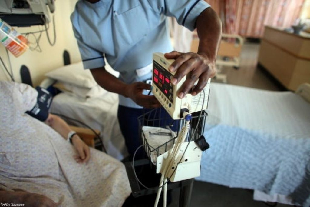 Under NHS reforms, trusts can receive up to 49% of funding from non-NHS sources