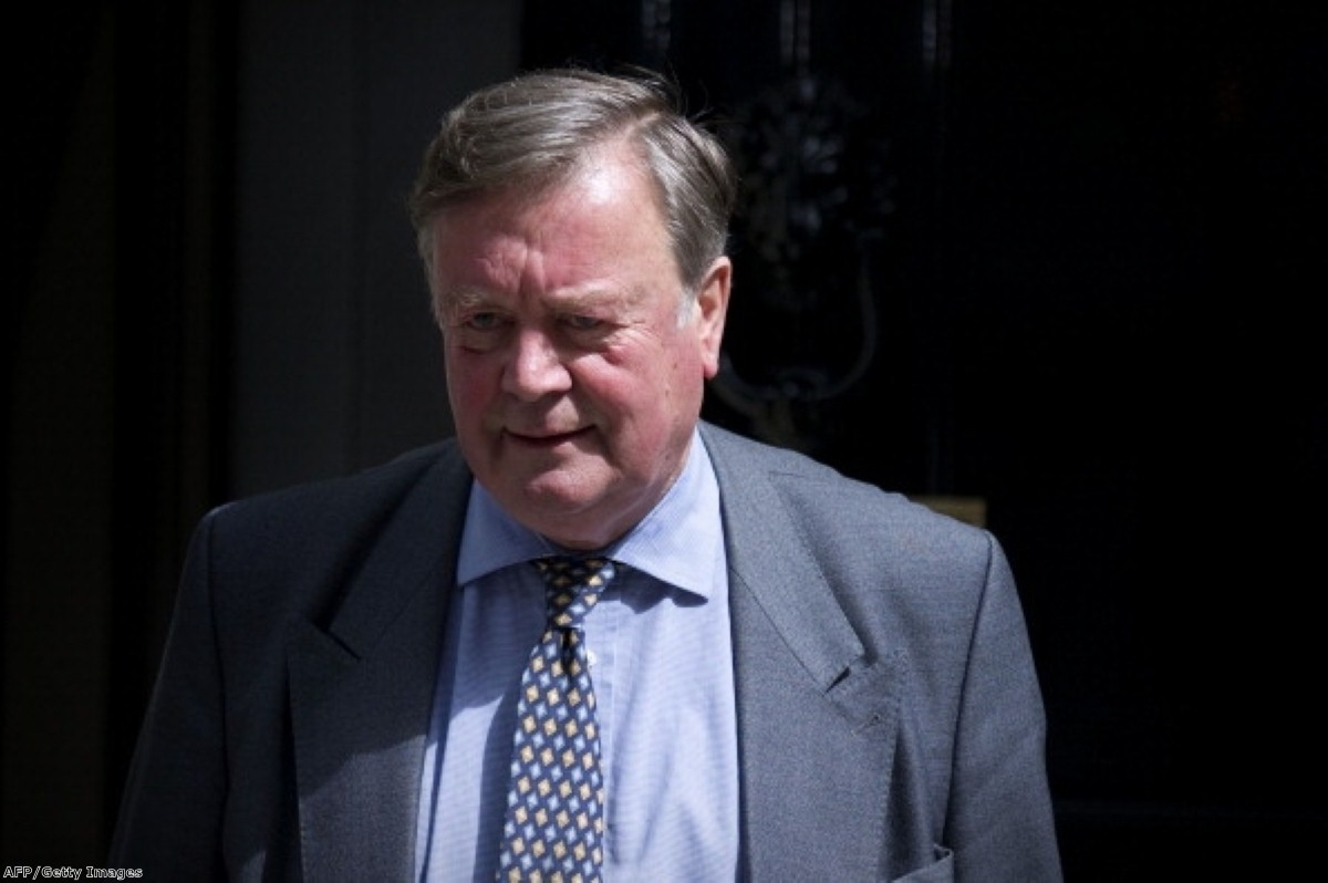 Ken Clarke has indicated he wants to keep his job at the Ministry of Justice