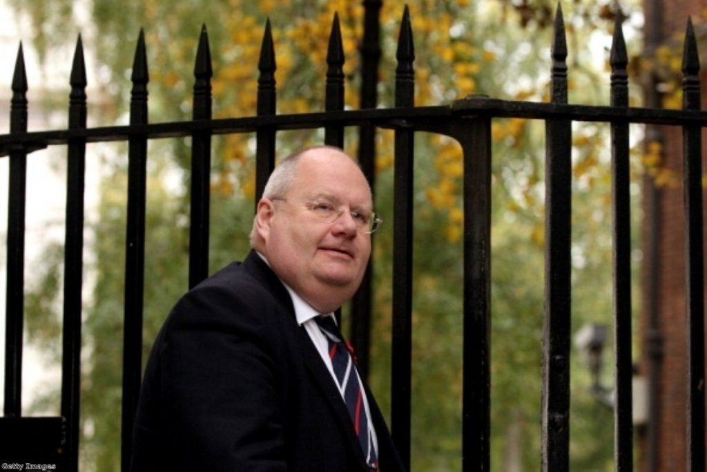 """Eric Pickles said the woman he told to adjust her medication was """"utterly unreasonable"""""""