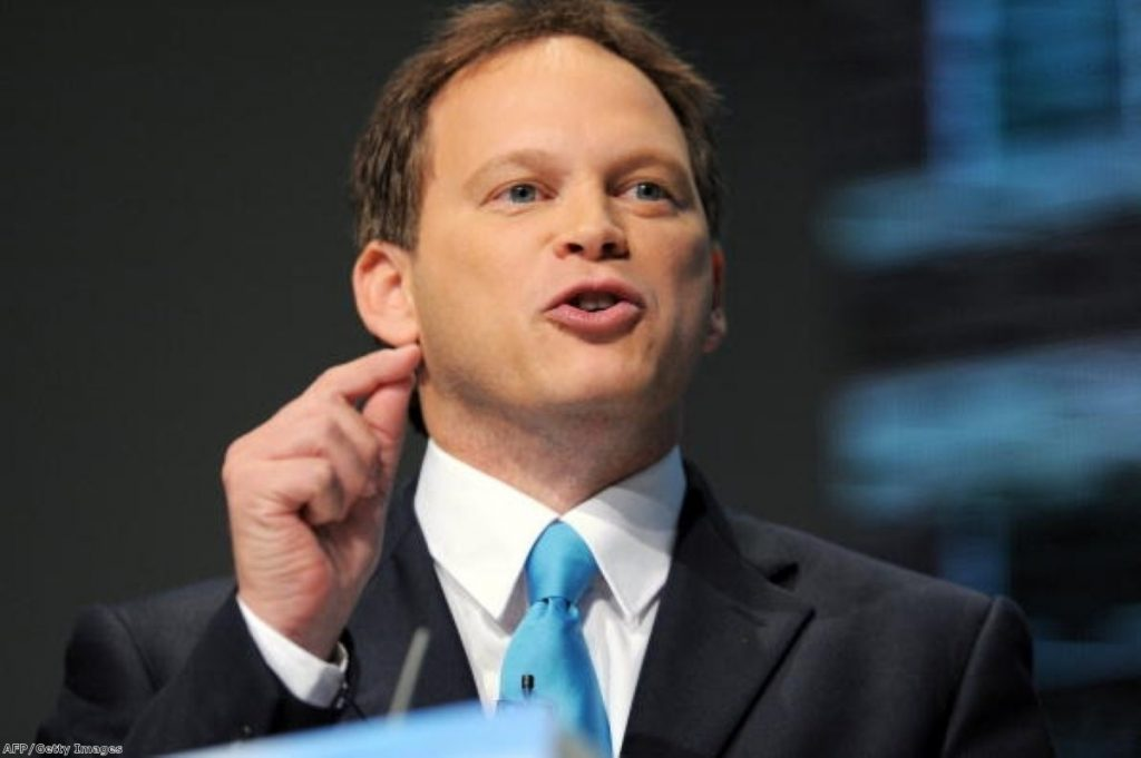 You can't knock Grant Shapps for thinking small