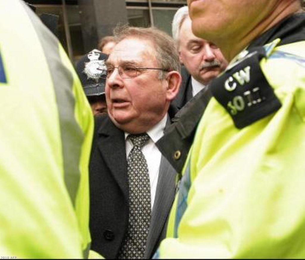 Lord Hanningfield was sent to jail for previously misclaiming expenses