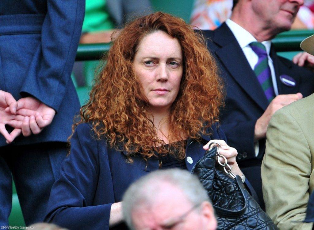 Rebekah Brooks resigns. Photo: Getty Images