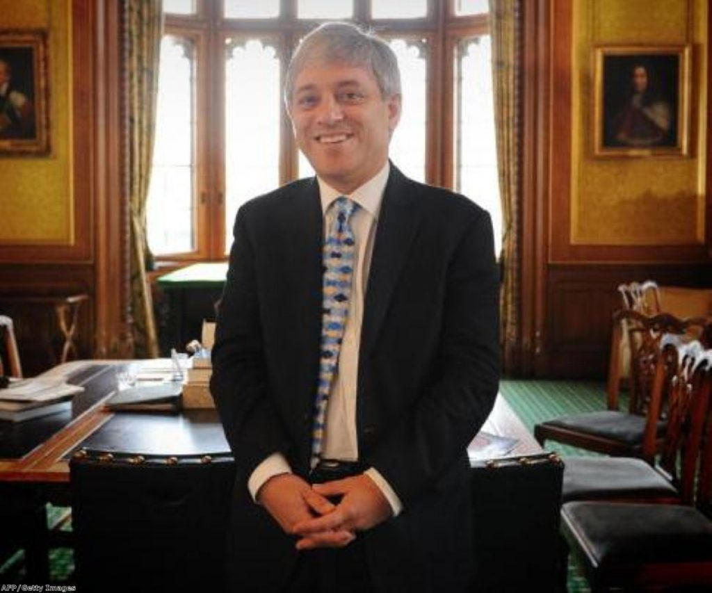 Commons Speaker John Bercow faces criticism from Tory MP Rob Wilson