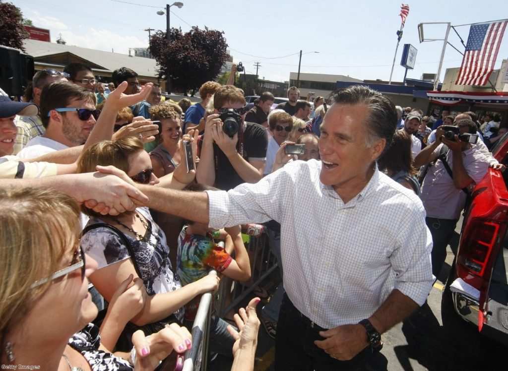 The campaign said the comments 'do not reflect Romney's views'