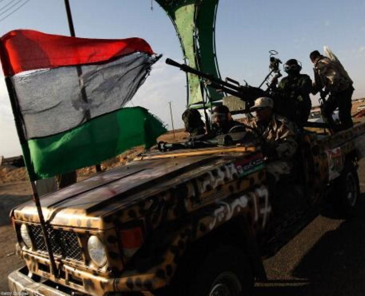 Opening up frozen assets will help Libyan rebels