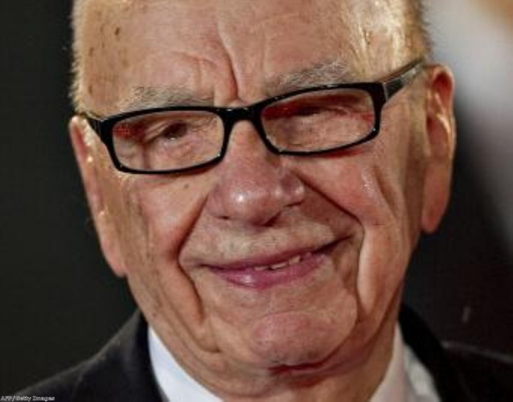 Murdoch has announced his company will split in two