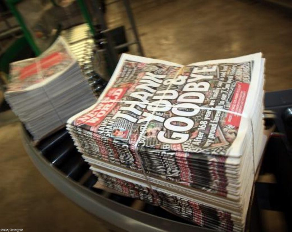 Six journalists were arrested for suspected phone-hacking while they worked at the News of the World.
