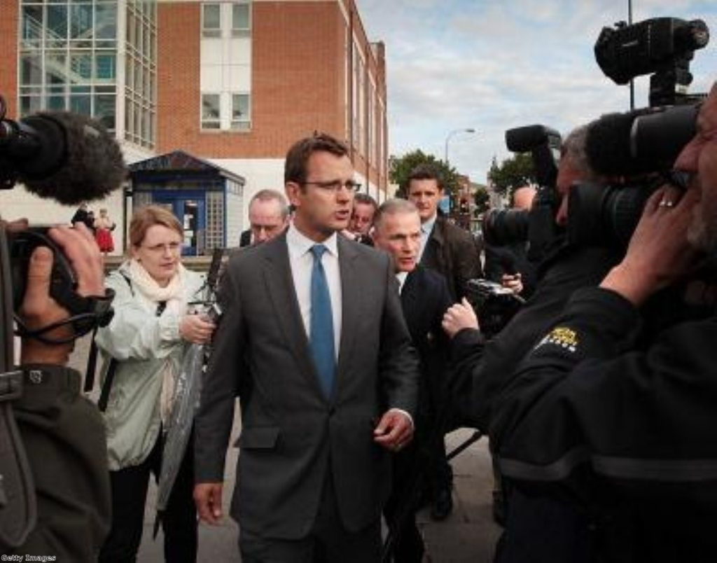Andy Coulson had a six year affair with Rebekah Brooks, the court heard