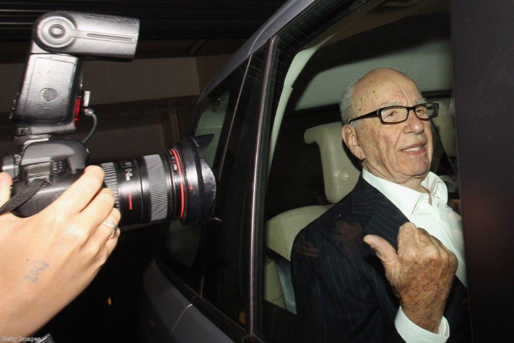Rupert Murdoch steps back from UK newspaper business