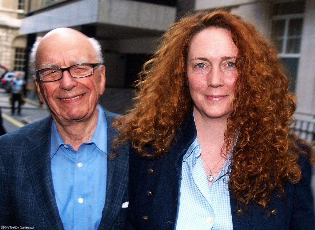 Ms Brookes was one of the most prominent of Murdoch's allies