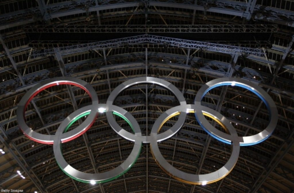 The Olympics hangs over London