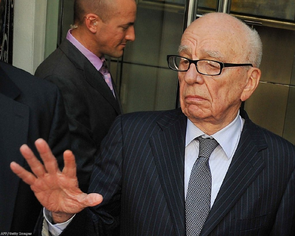 On the back foot: The Dowler testimony is likely to be highly damaging to Rupert Murdoch's News International.