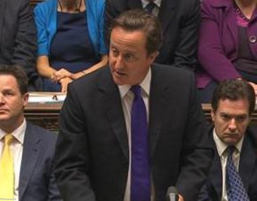 Cameron: 'No bolt-hole; no pampered hiding place from justice'