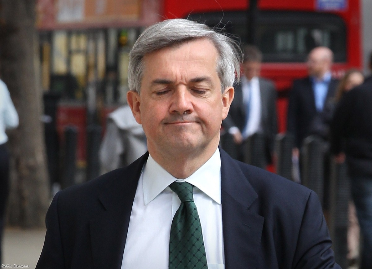Chris Huhne: the end of a political career in one foolish mistake.