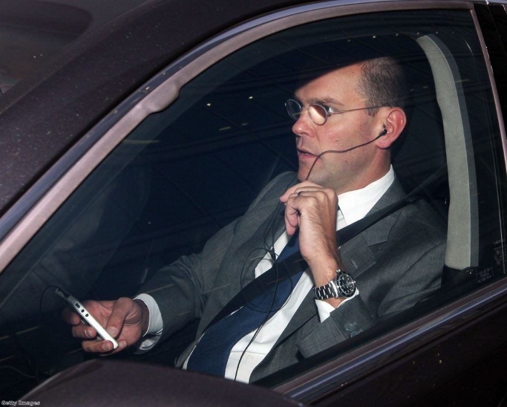 James Murdoch has been the centre of attention in the phone-hacking scandal this week