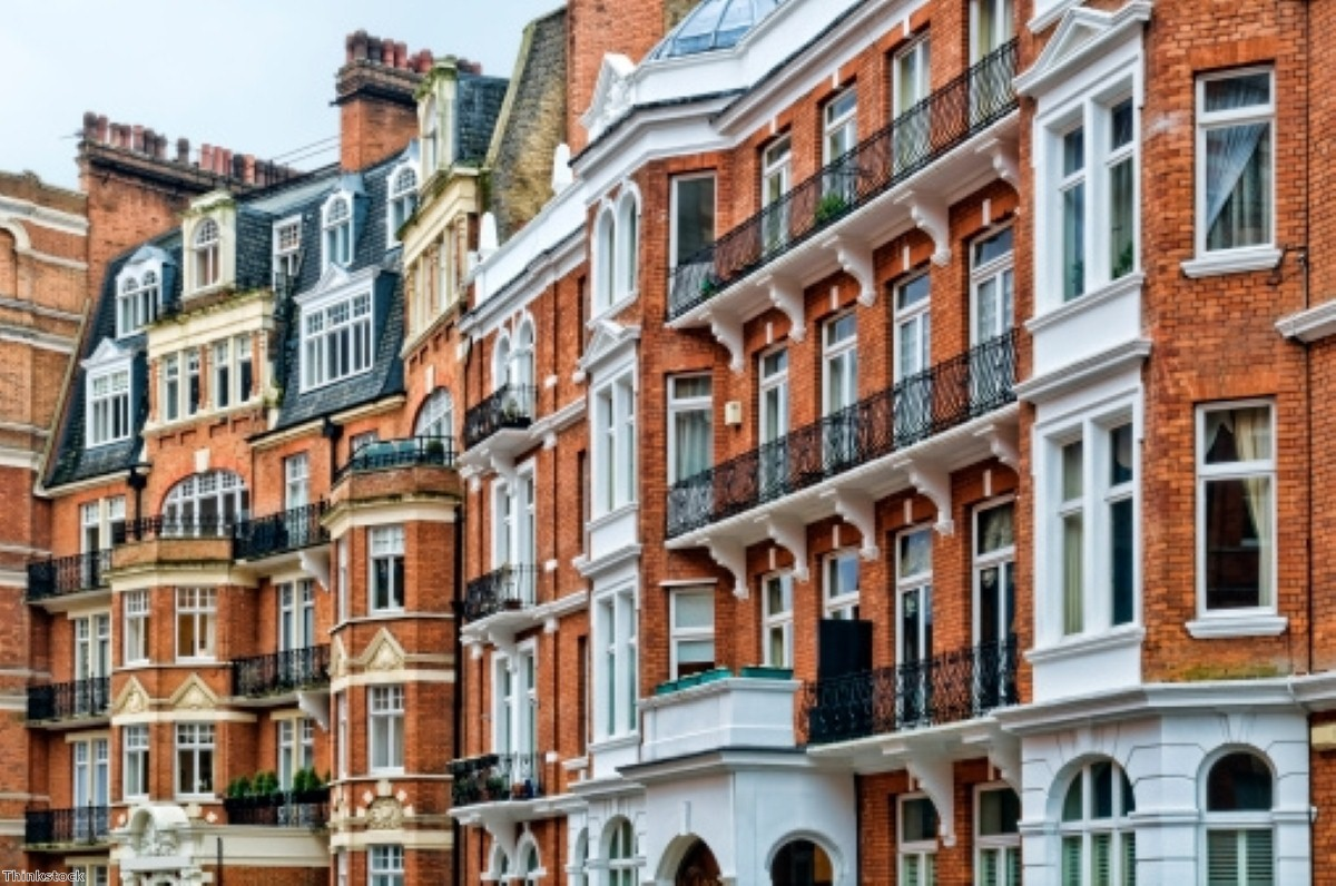 Most £1m-plus properties in UK are in London and the south-east