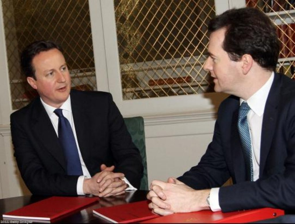 Cameron and Osborne: No time to waste