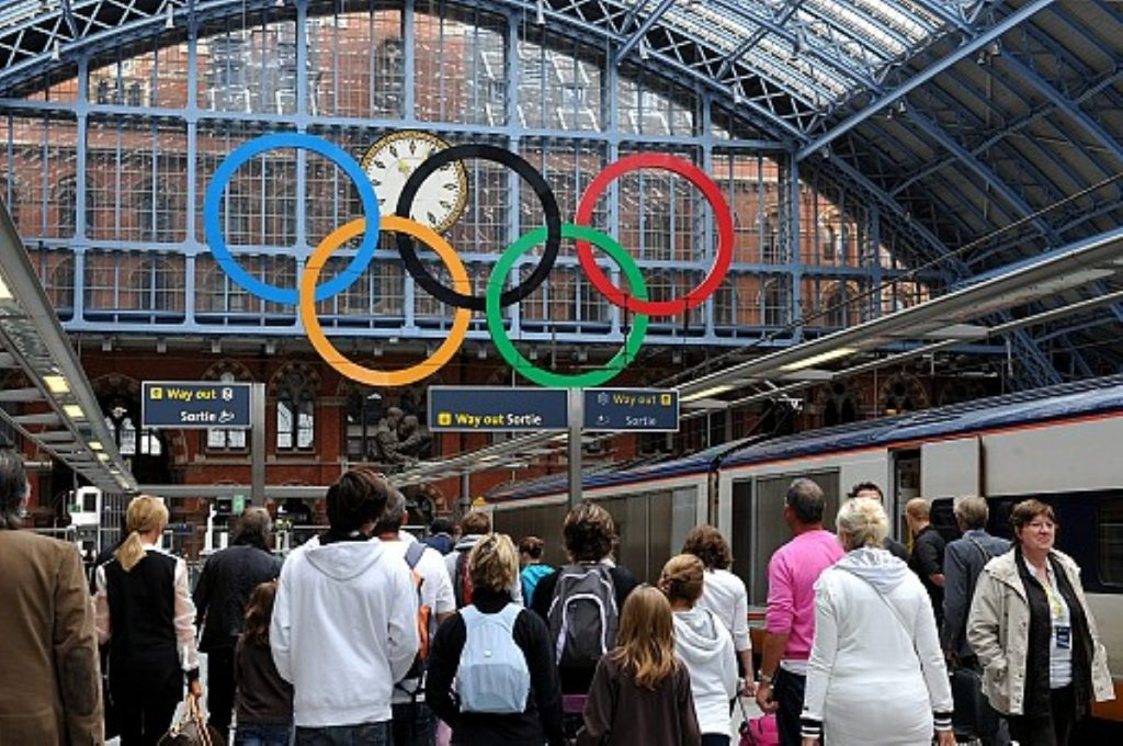 Time to go home... London returns to normal after the Olympics
