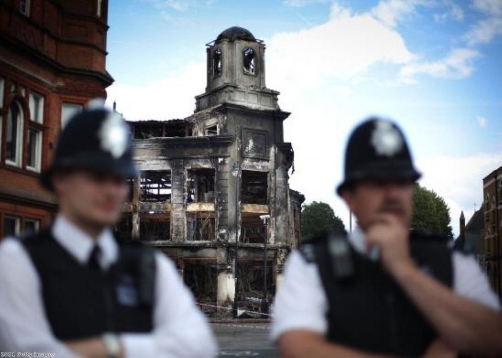 MPs focus their questioning on police response to the riots