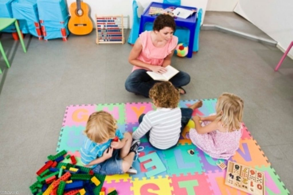 Child care plans were a central part of the midterm review