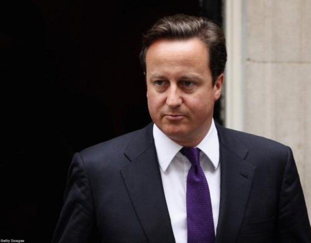 "David Cameron says mending Britain's ""broken society"" will be his priority"