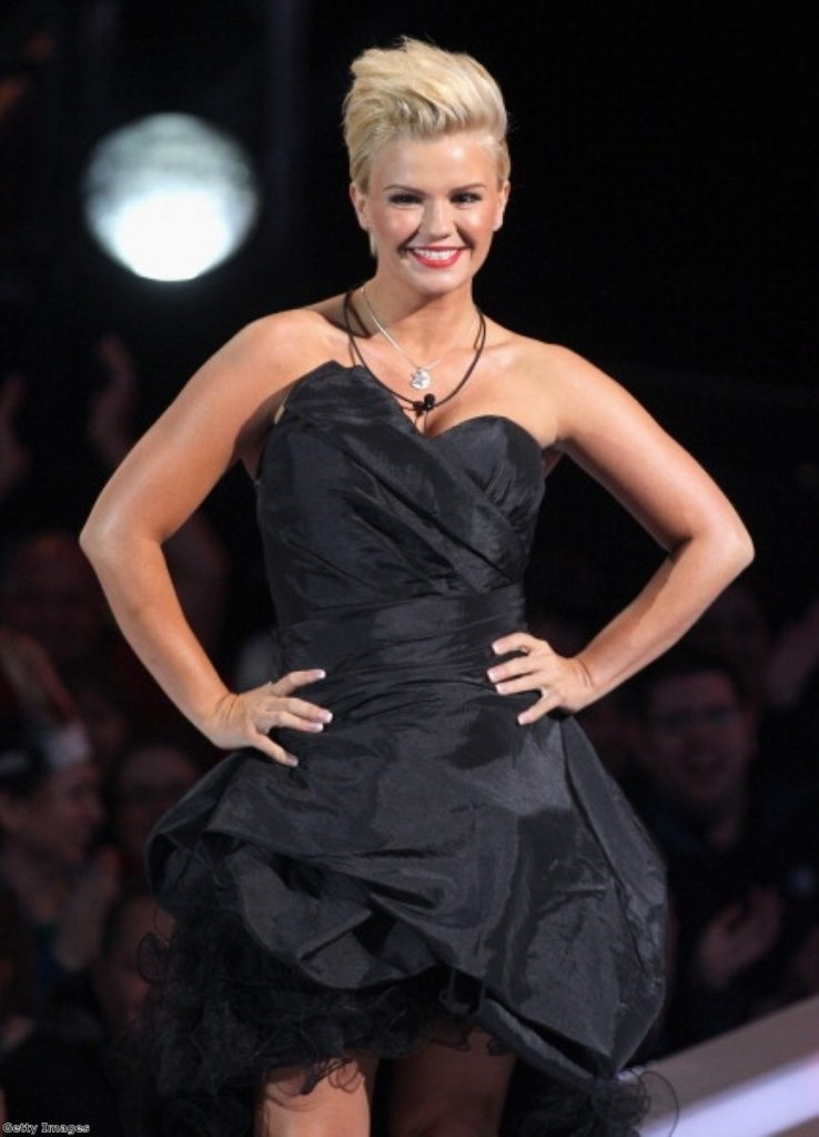 Kerry Katona arrives at the Celebrity Big Brother house. Photo: Getty Images