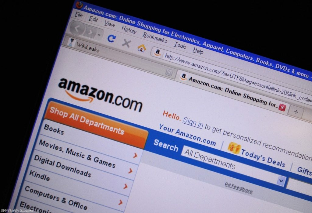 Lost in the Amazon: the online retail giant is still being criticised for its tax affairs.