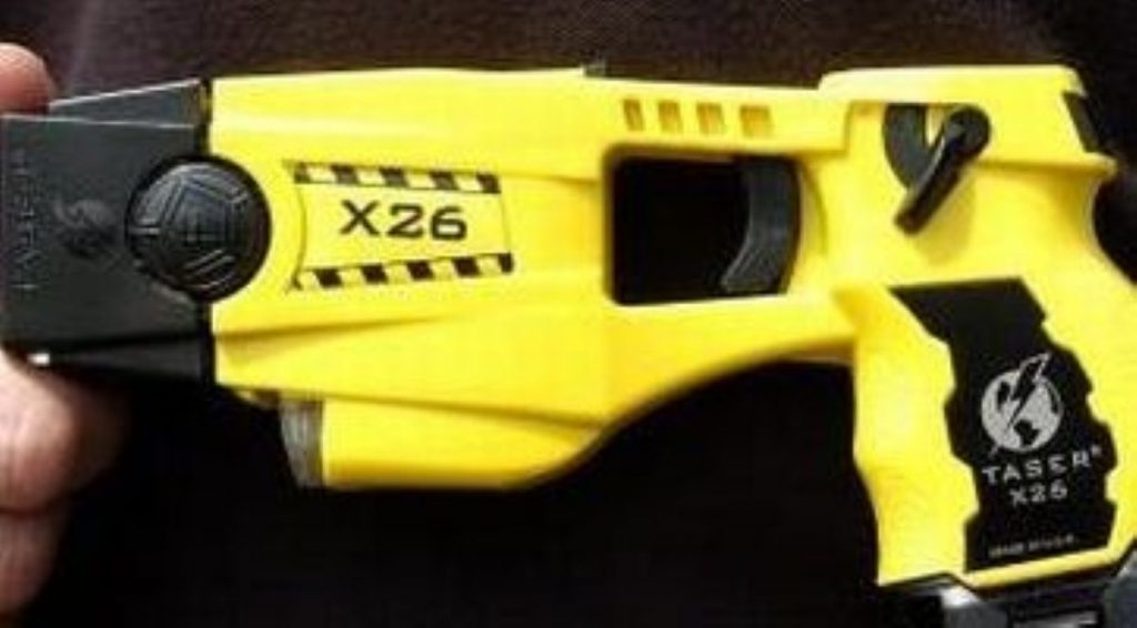 Taser use has jumped upwards between 2009 and 2011