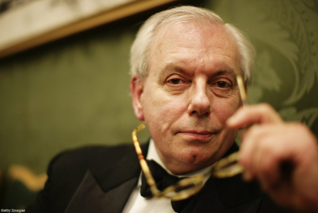 David Starkey poses for the camera while attending the Morgan Stanley Great Britons Awards in 2007.