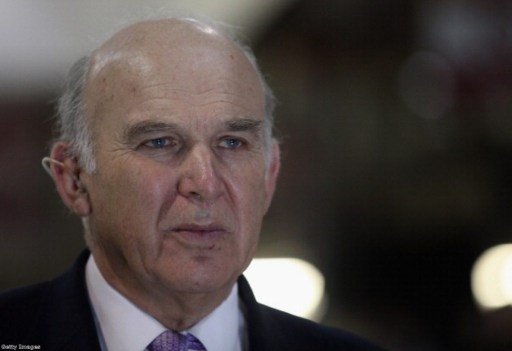 Vince Cable branded 'socialist' by Adrian Beecroft