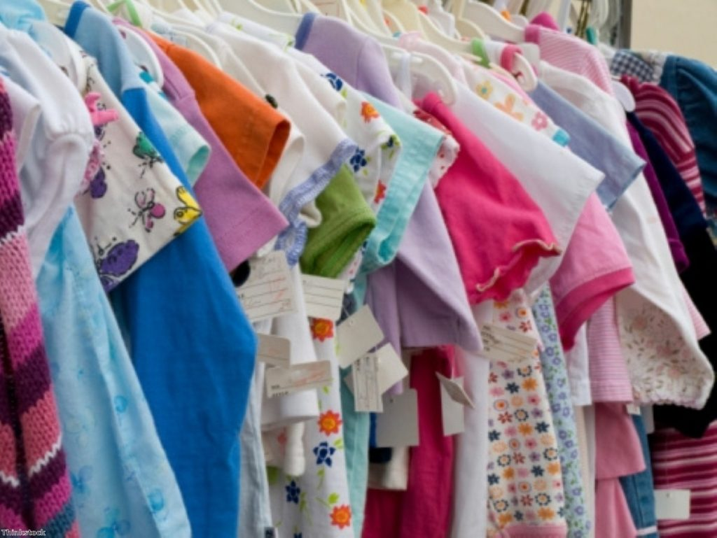 15% VAT would be applied to children's clothes under plans by Tory MPs