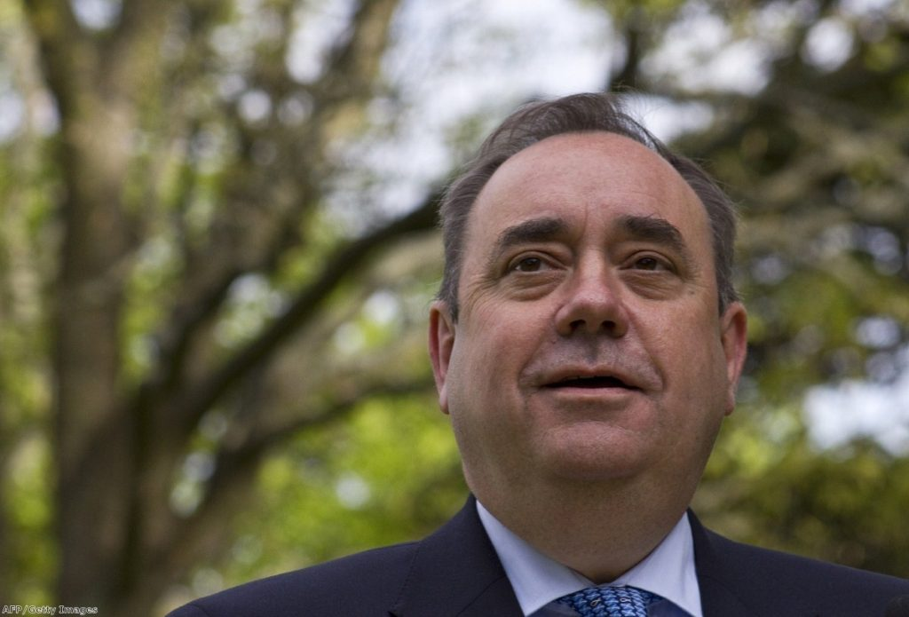 Salmond: 'Stuck between a rock and a hard place'