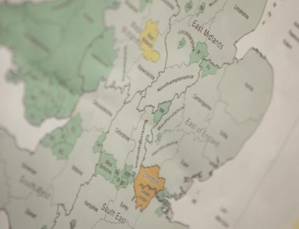 Even more boundary changes on the way after 2015