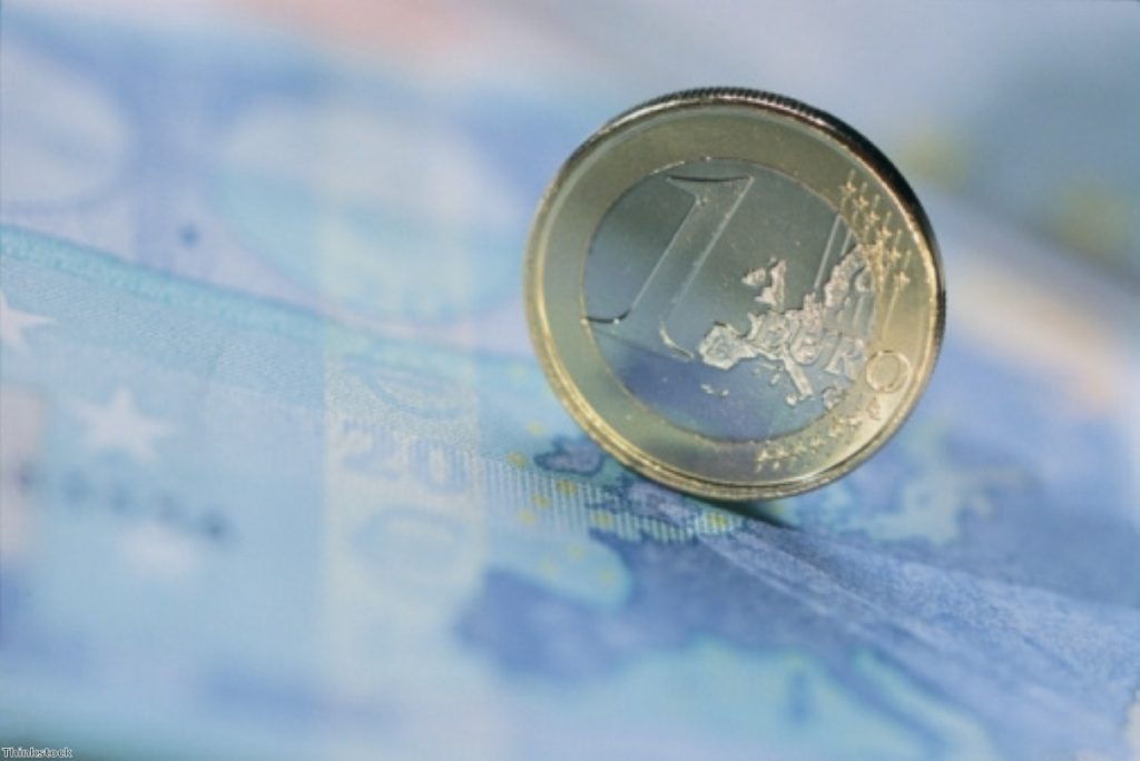 Britain is preparing for a total collapse of the European currency, the Treasury admitted.