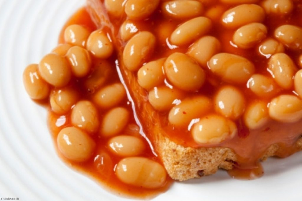 A first time for everything: Baked beans as a representation of the state of British politics