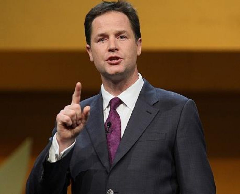 Clegg: Never the best public speaker