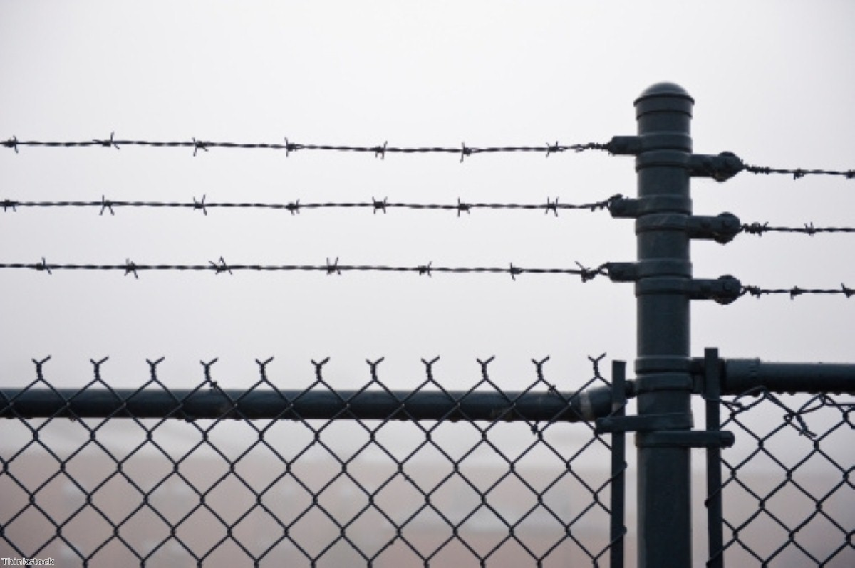 Barbed wire: Events behind the fence at Morton Hall are hard to piece together