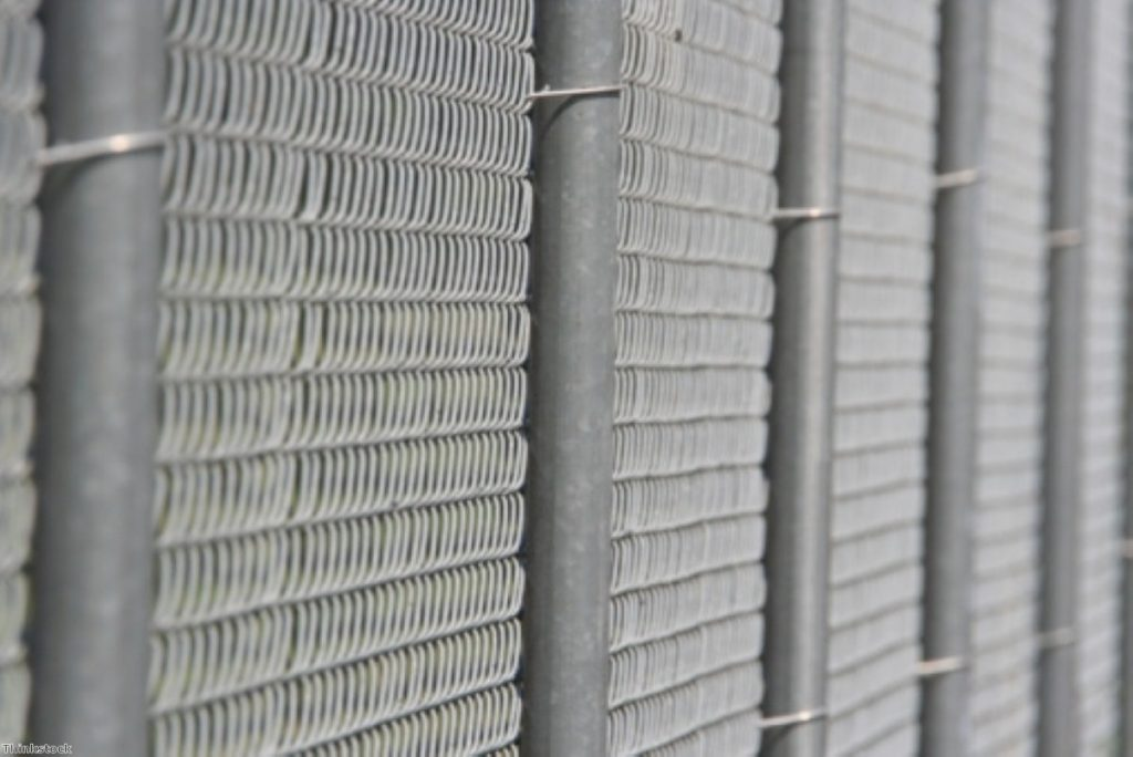 Imprisoned: Thousands are kept in detention centres without having committed a crime